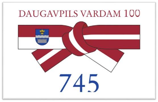 Veltījums Daugavpils pilsētas 745.dzimšanas dienai  2020.gadā